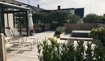 Helrenovering av befintlig trädgård; Domsten