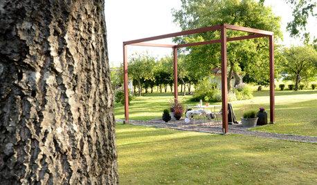 Проект недели: Открытая пергола в шведском Гётеборге
