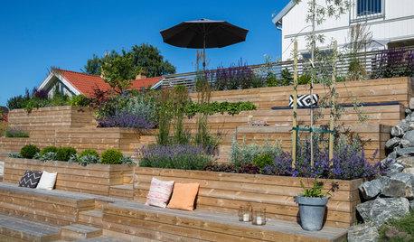 Ge trädgården nytt liv: Plantera på olika höjd