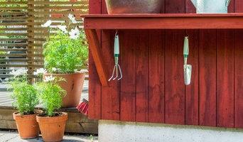 Styling av trädgård inför försäljning