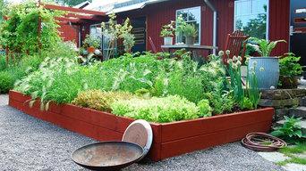 Terrassträdgård