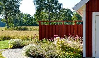Utby - trädgårdsplanering och plantering