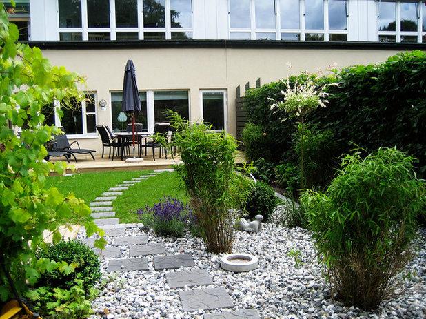 Modern Trädgård by SNITSIG Trädgård & Landskap AB