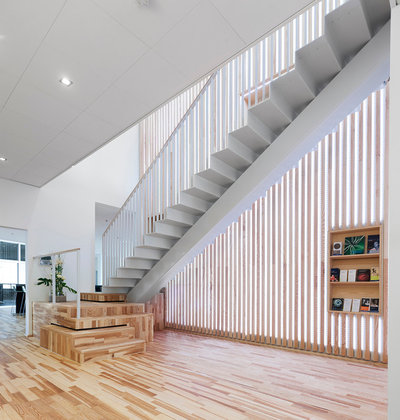 Contemporain Escalier by SITE ARKITEKTER