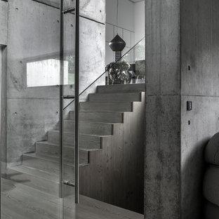 Cette image montre un escalier urbain.