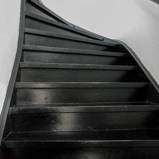 Inredning av en 50 tals trappa