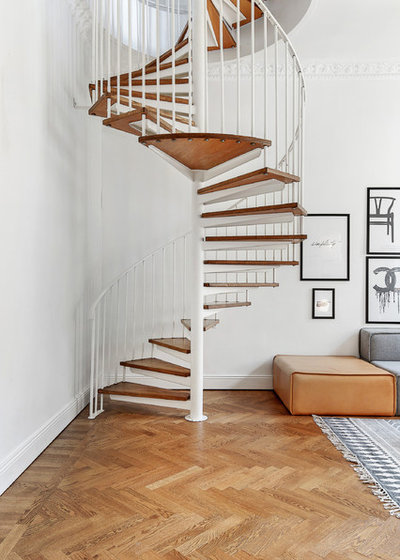 Scandinave Escalier by Kronfoto