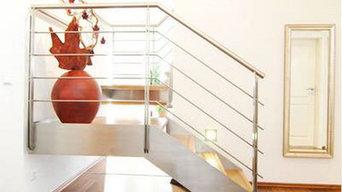 Anbau Einfamilienhaus - Treppenhaus