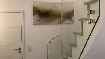 Ausstattung eines Wohnhauses mit Kunstwerken