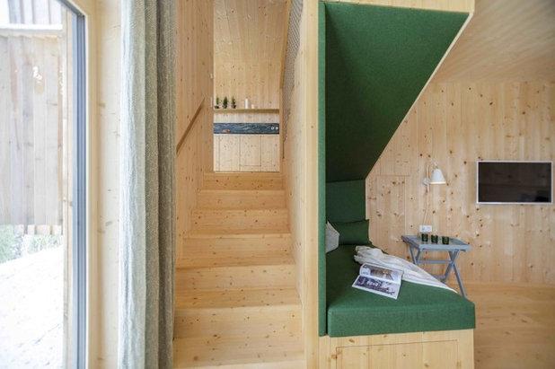 Skandinavisch Treppen by Architekturbüro Gappmaier