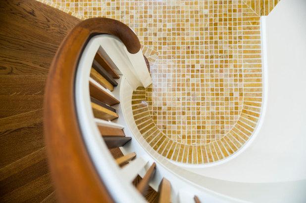Mid-Century Treppen by schöne räume ai GmbH