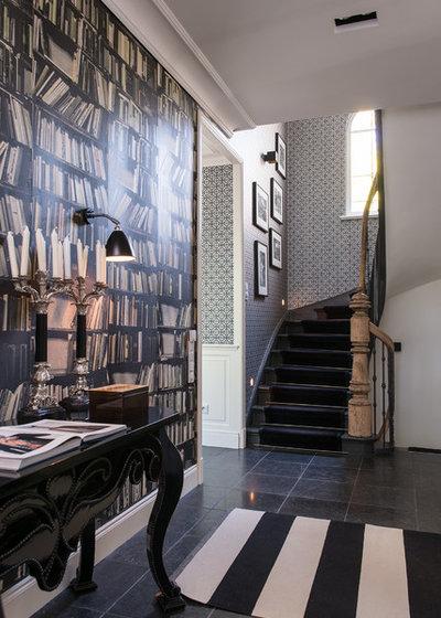 Klassisch Treppen Eklektisch Treppenhaus