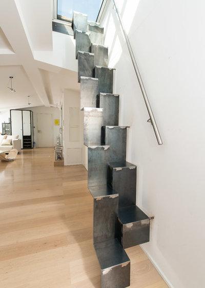 Industriel Escalier by Spitzbart Treppen