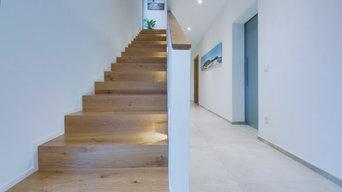 Flur, Treppenaufgang