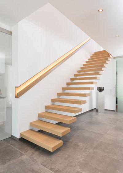 Minimalistisch Treppen by Meyer & Grave Treppenbau
