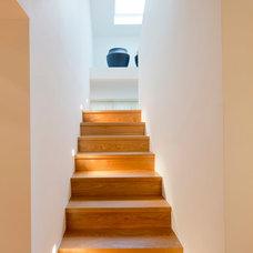 Contemporary Staircase by Ferreira | Verfürth Architekten