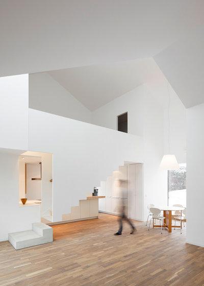 Contemporain Escalier by Prinzmetal - Büro für Interaktive Architektur