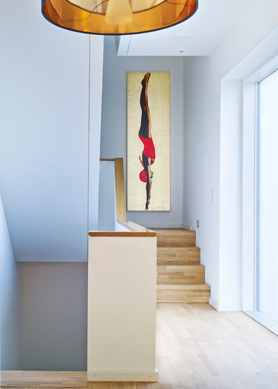 Contemporary Staircase by Michael Moser Images