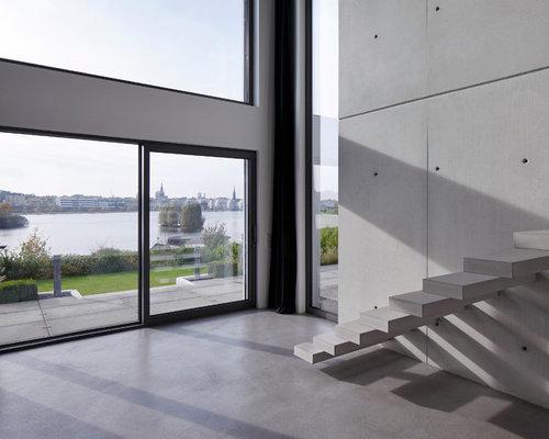 Treppenhaus modern   treppenhausgestaltung und modernes treppen ...