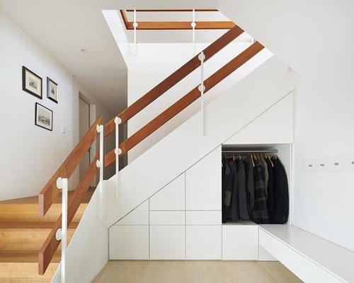 moderne treppen in u form ideen f r treppenaufgang. Black Bedroom Furniture Sets. Home Design Ideas
