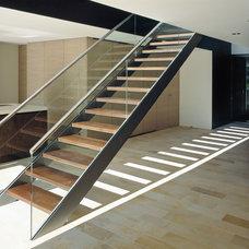 Contemporary Staircase by eggersmann küchen GmbH & Co. KG