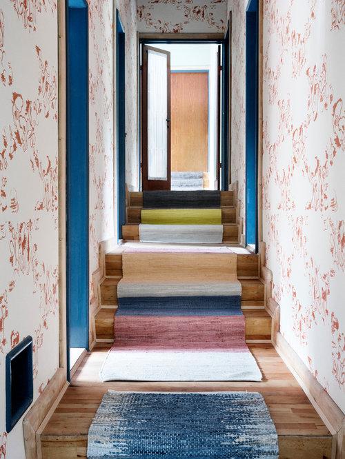 Treppenhaus im shabby chic style   treppenhausgestaltung und ...