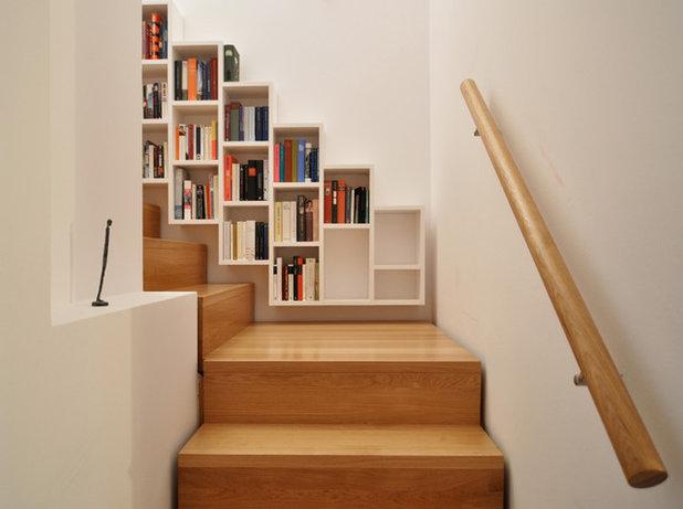Contemporary Staircase by Drexler Guinand Jauslin Architekten GmbH