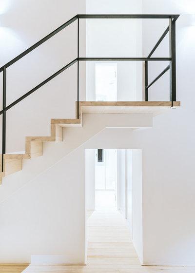 Rustikal Treppen by BUERO PHILIPP MOELLER