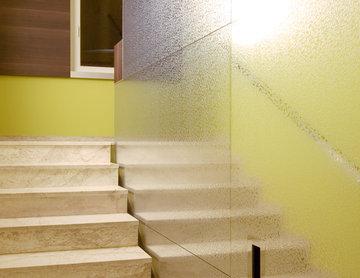 Neu gestaltetes 50er-Jahre Treppenhaus