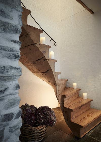 Rústico Escalera by Meier Architekten