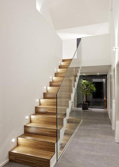 Iluminaci n 10 consejos que dar n un cambio radical a tu escalera - Iluminacion de escaleras ...