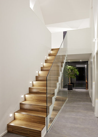 Iluminaci n 10 consejos que dar n un cambio radical a tu escalera - Iluminacion led escaleras ...