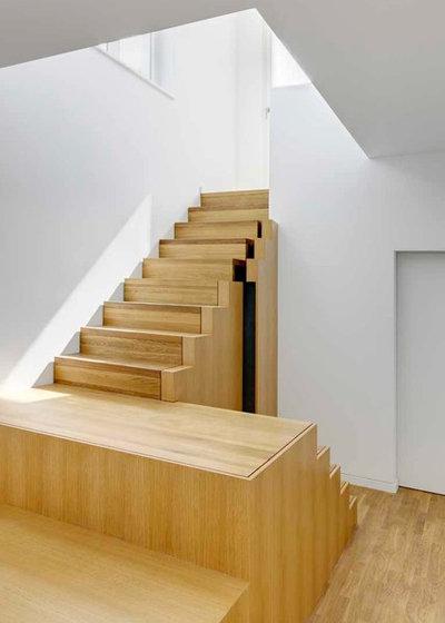 Modern Treppen by franke architekten