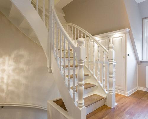 Treppen mit Teppich-Treppenstufen Ideen, Design & Bilder | Houzz