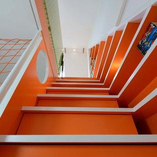Modelo de escalera actual pequeña
