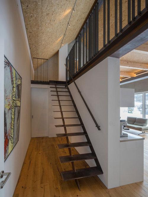 Fotos de escaleras dise os de escaleras suspendidas for Contrahuella escalera