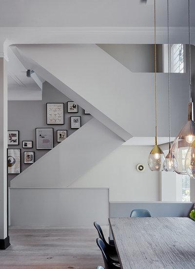 Modern Treppen by Anja Lehne interior design