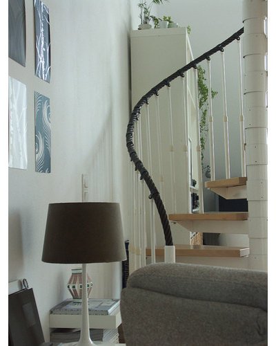 Contemporary Staircase by Domestic Stories with Ivy
