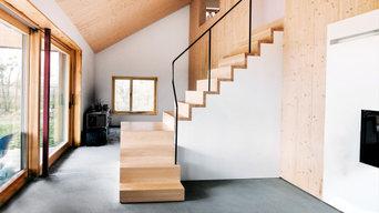 Treppe schlicht & modern