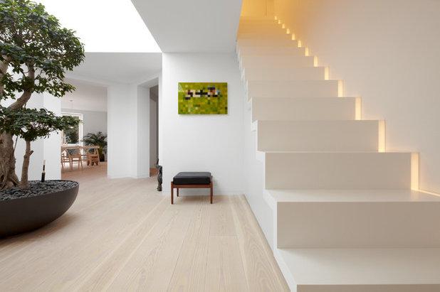 Eine treppe ohne gel nder ist das berhaupt erlaubt - Wandbeleuchtung aussen ...