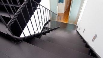 Treppenrenovierung der Extraklasse im Bürogebäude aus der Gründerzeit
