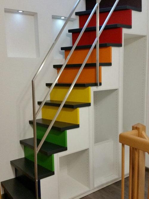 Treppenschrank Als Stauraumlosung