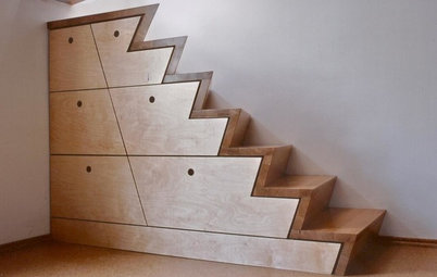 Treppe, Schrank & Skulptur: Dieses Schreinerwerk will hoch hinaus