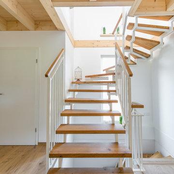 Treppenstufen aus Eiche