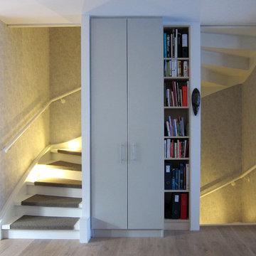 Verwandlung einer Treppe