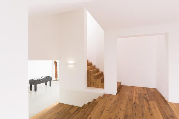 alt und neu verbunden die gelungene sanierung eines dreiseithofs. Black Bedroom Furniture Sets. Home Design Ideas