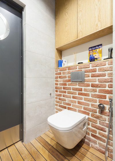 Лофт Туалет by Юлия Сологубова/ Antresole