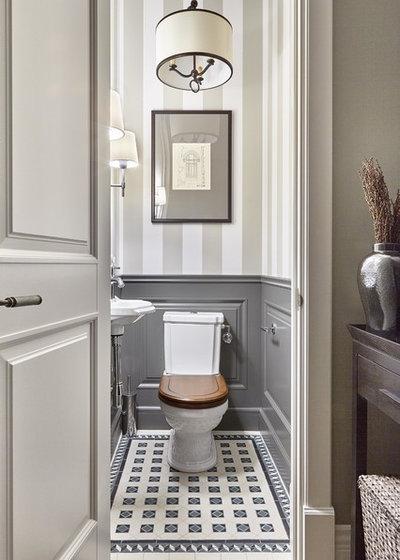 Современная классика Туалет by I.D.interior design