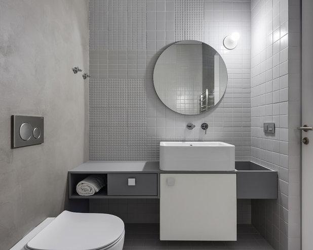 Современный Туалет by Nika Vorotyntseva design & architecture bureau