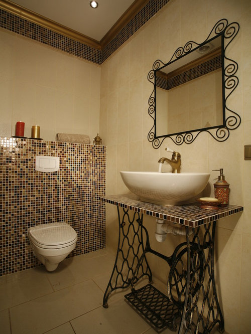 mediterrane g stetoilette g ste wc ideen f r g stebad und g ste wc design. Black Bedroom Furniture Sets. Home Design Ideas